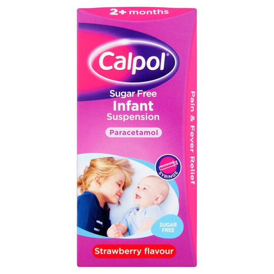 Calpol Infant Sugar Free 100Ml - Tesco Groceries