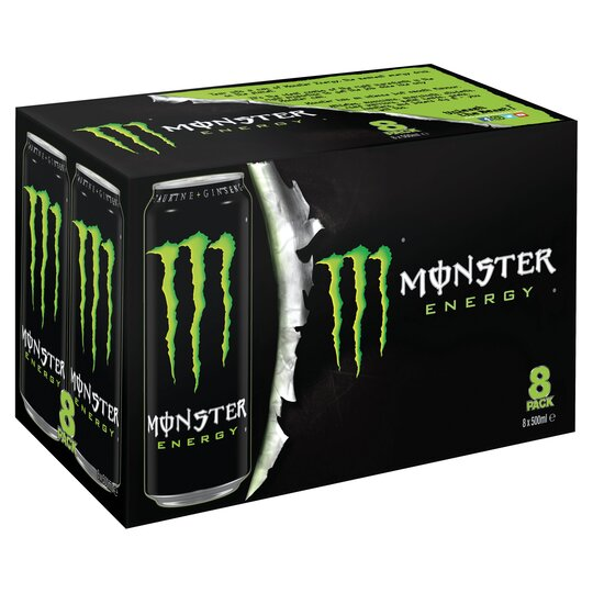 image 1 of Monster Energy 8 X 500Ml