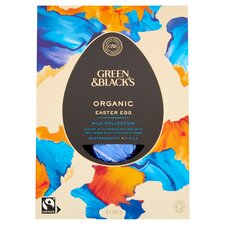 image 2 of Green & Black's Milk Chocolate Large Shell Egg 345G