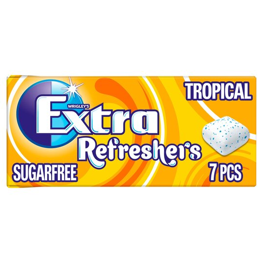 Wrigley's Extra Tropical Chewing Gum Sugar Free 15.6G