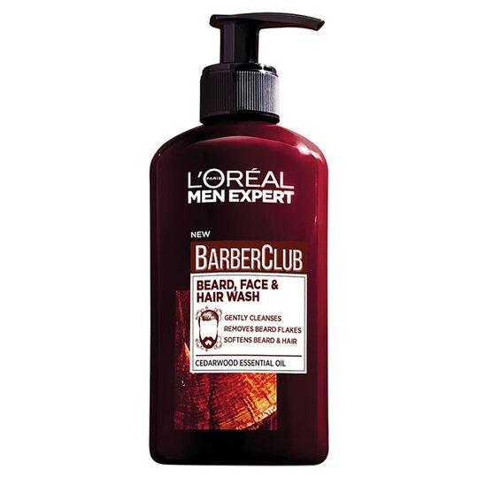 L'oreal Expert Barberclub Beard Face & Hair 200Ml