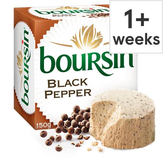 Boursin Full Fat Soft Cheese Pepper