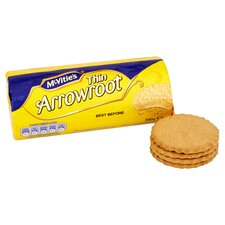 image 2 of Mcvities Crawford Thin Arrowroot Biscts 200G