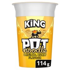 image 1 of Pot Noodle King Original Curry 114G