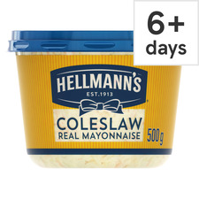 image 1 of Hellmann's Coleslaw With Real Mayonnaise 500G