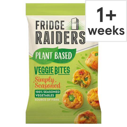 Fridge Raiders Simply Seasoned Veggie Bites 70G