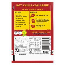image 3 of Colman's Hot Con Carne Recipe Mix 37G