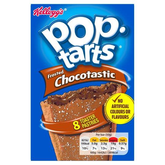 Kellogg's Pop Tarts Chocolate 400G