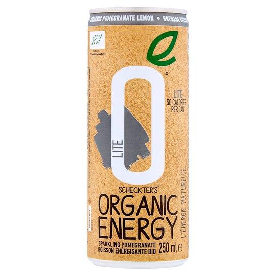 Scheckters Organic Energy Drink Lite 250Ml