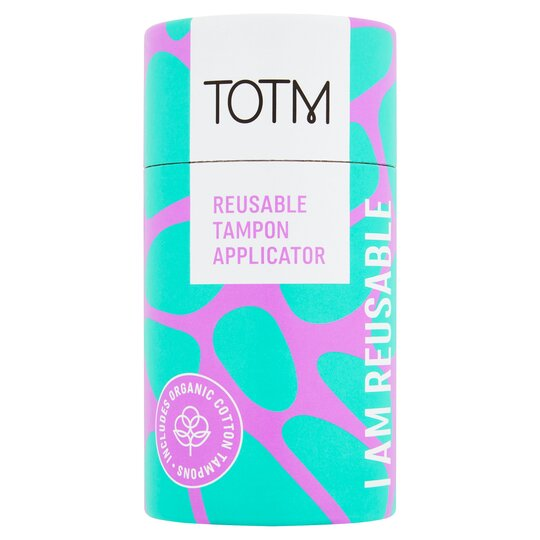 Totm Reusable Tampon Applicator
