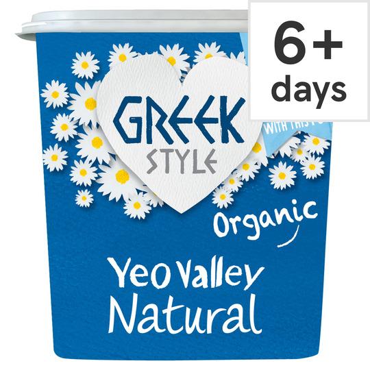 Yeo Valley Greek Style Natural Yogurt 950G