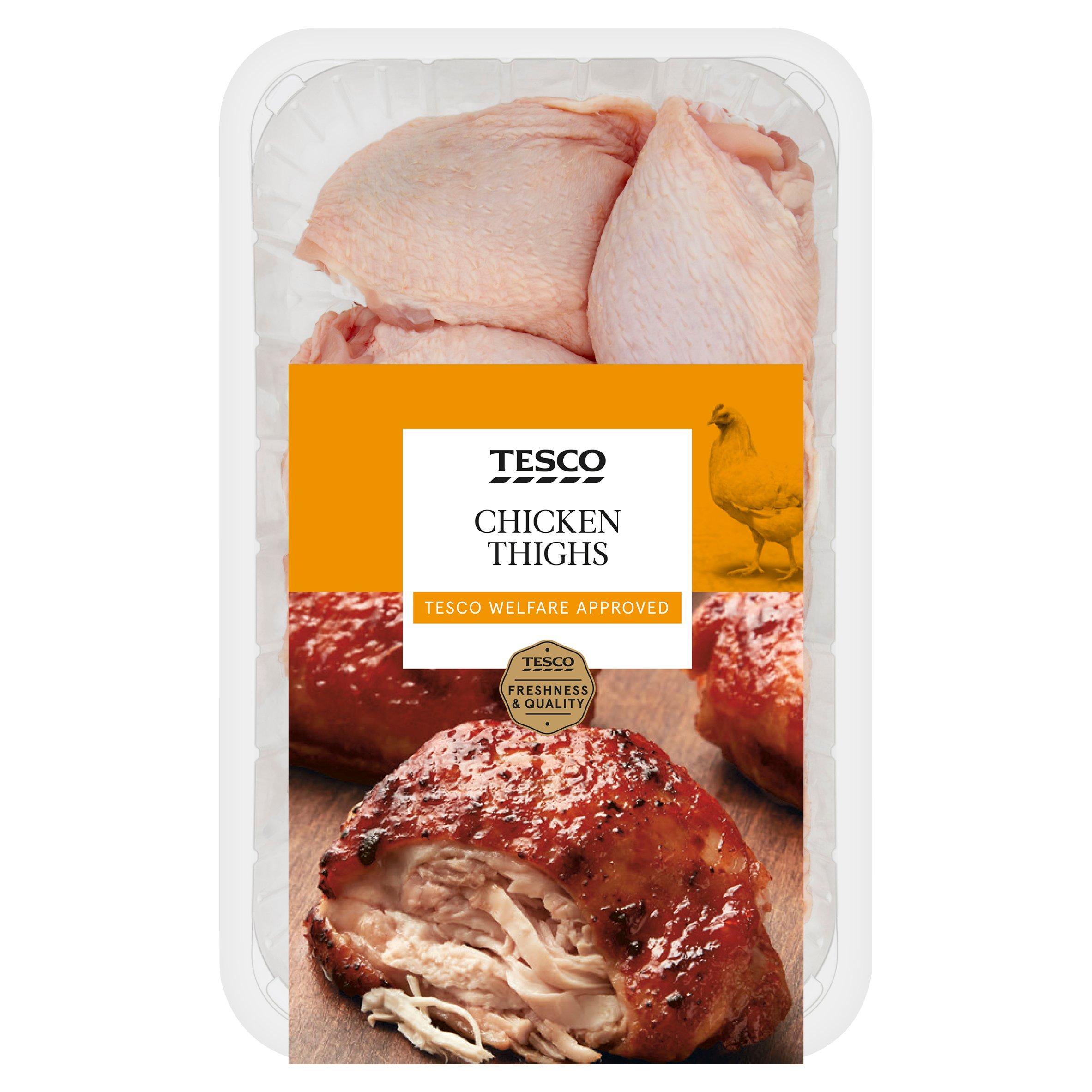 Tesco British Chicken Thighs 1Kg