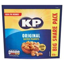 image 1 of Kp Original Salted Peanuts 415G