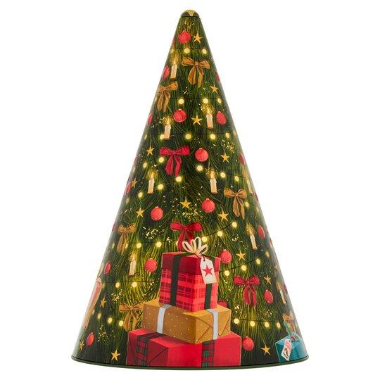 Tesco Musical Tree Tin with Mini