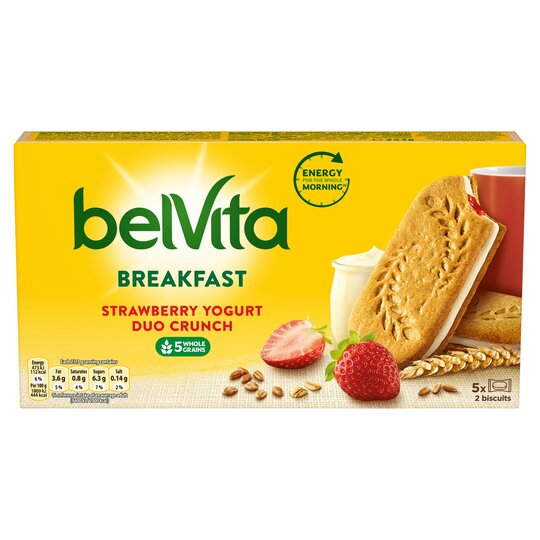 Belvita Biscuit Strawberry & Yogurt