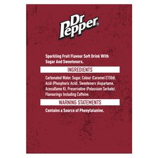 image 2 of Dr Pepper 500Ml