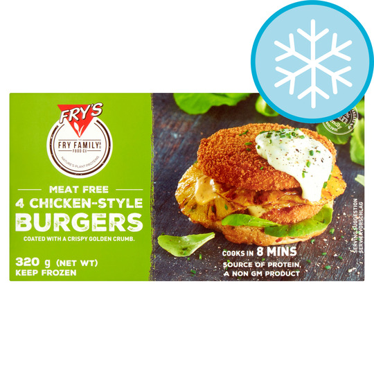 Fry's Meat Free 4 Chicken Style Burger 320G