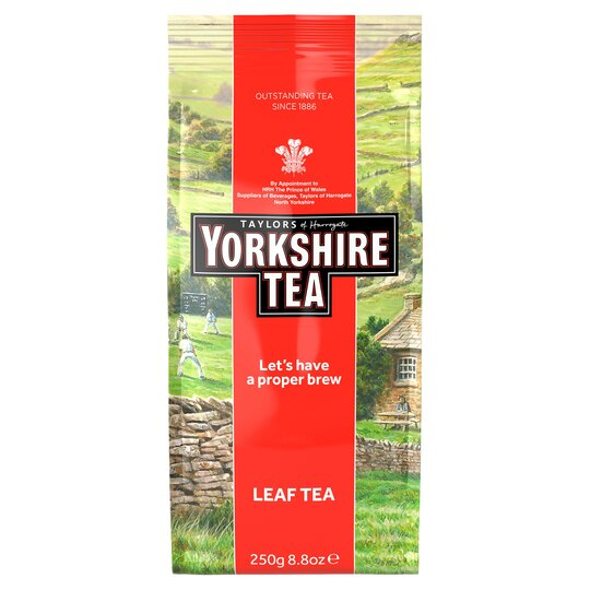 Taylors Yorkshire Leaf Tea 250G (Drum)