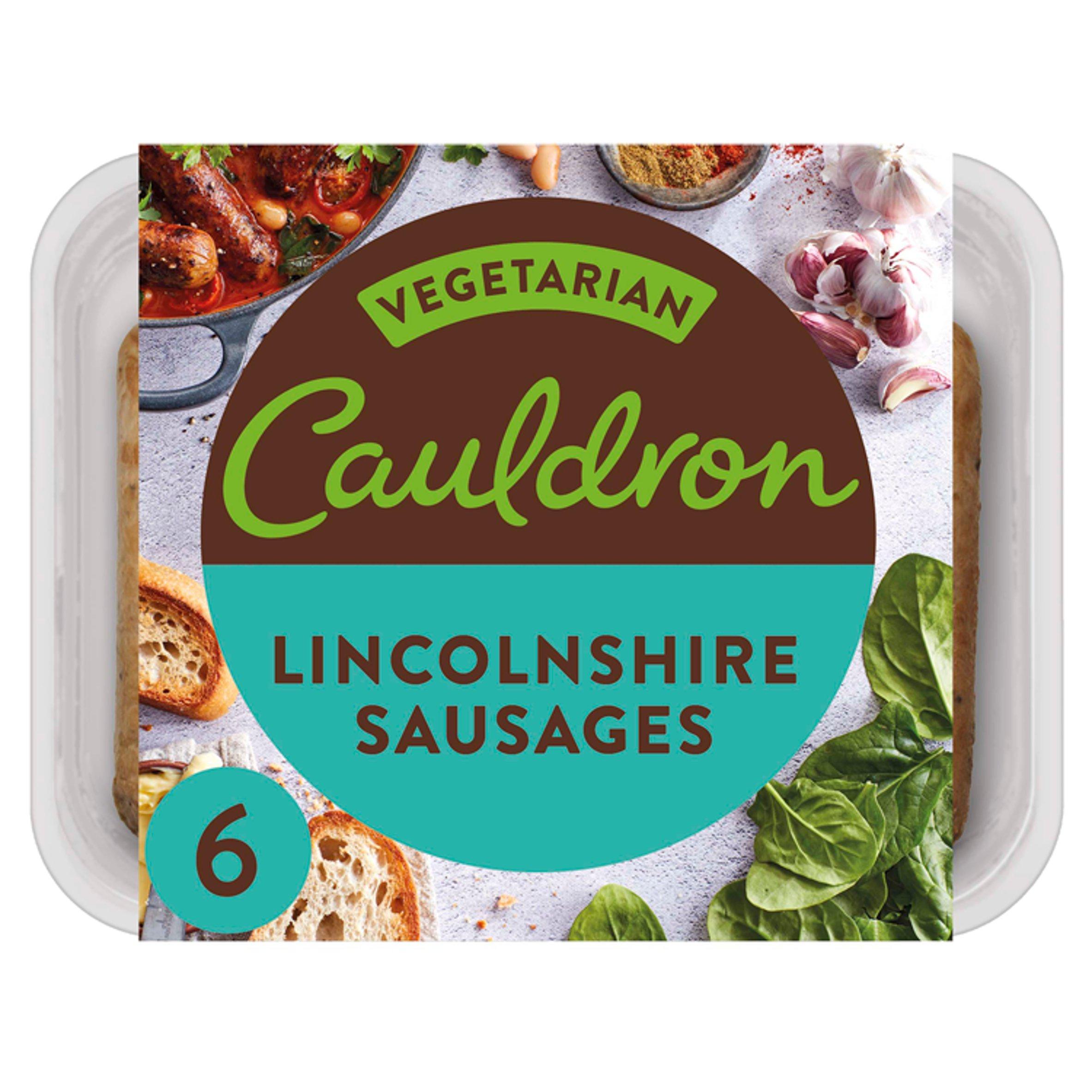 Cauldron 6 Lincolnshire Sausages 276G