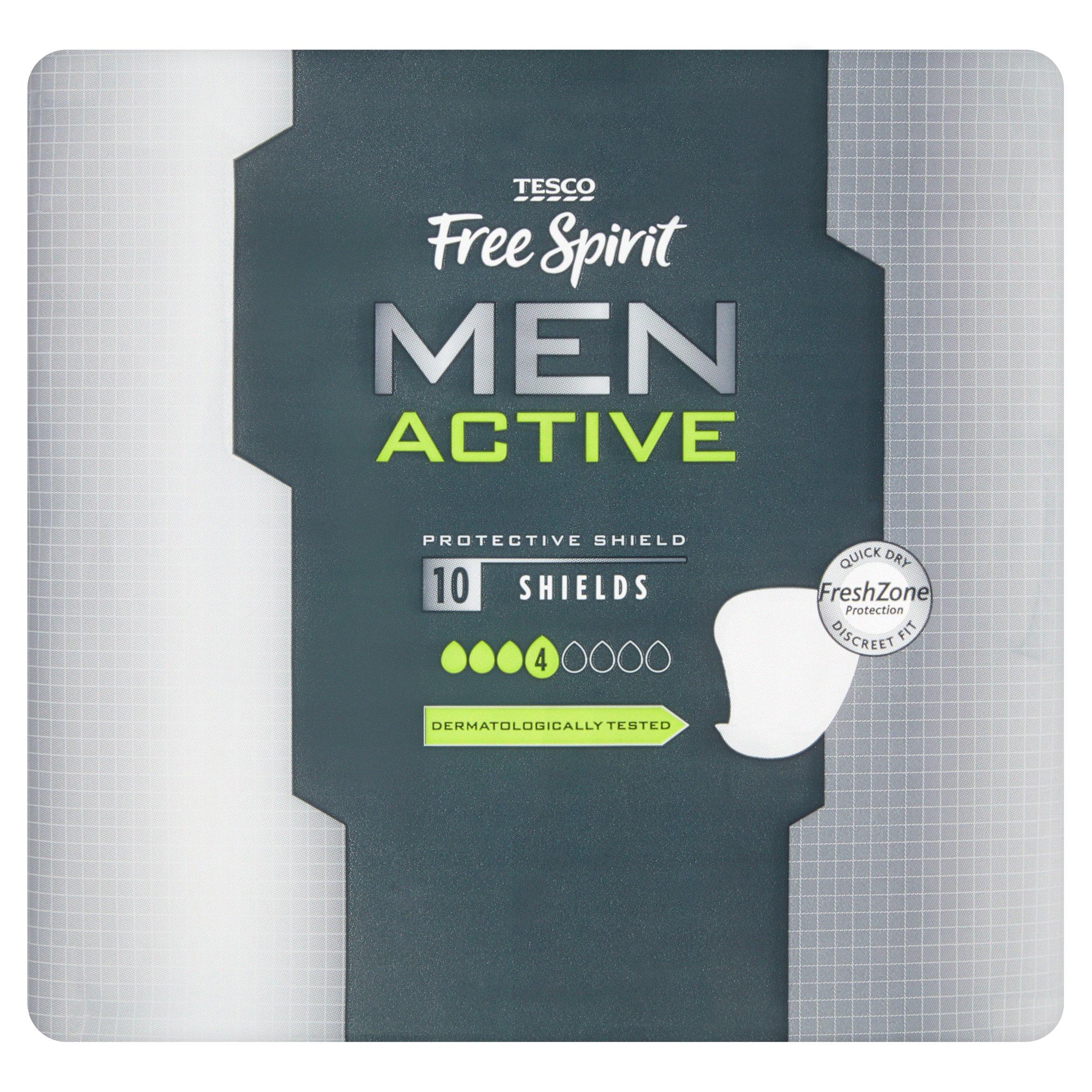 Tesco Free Spirit Men Active Shields 10