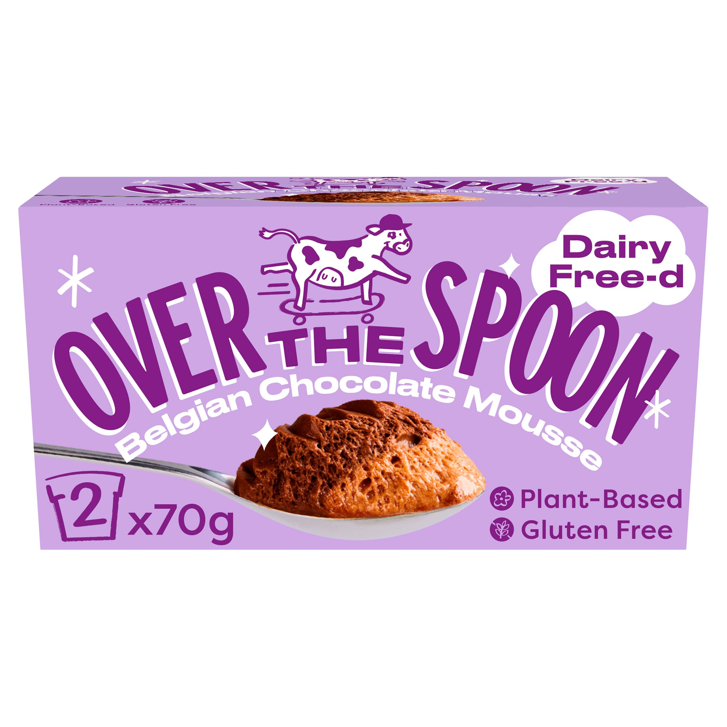 Over The Spoon Belgian Double Chocolate Mousse 2X70g