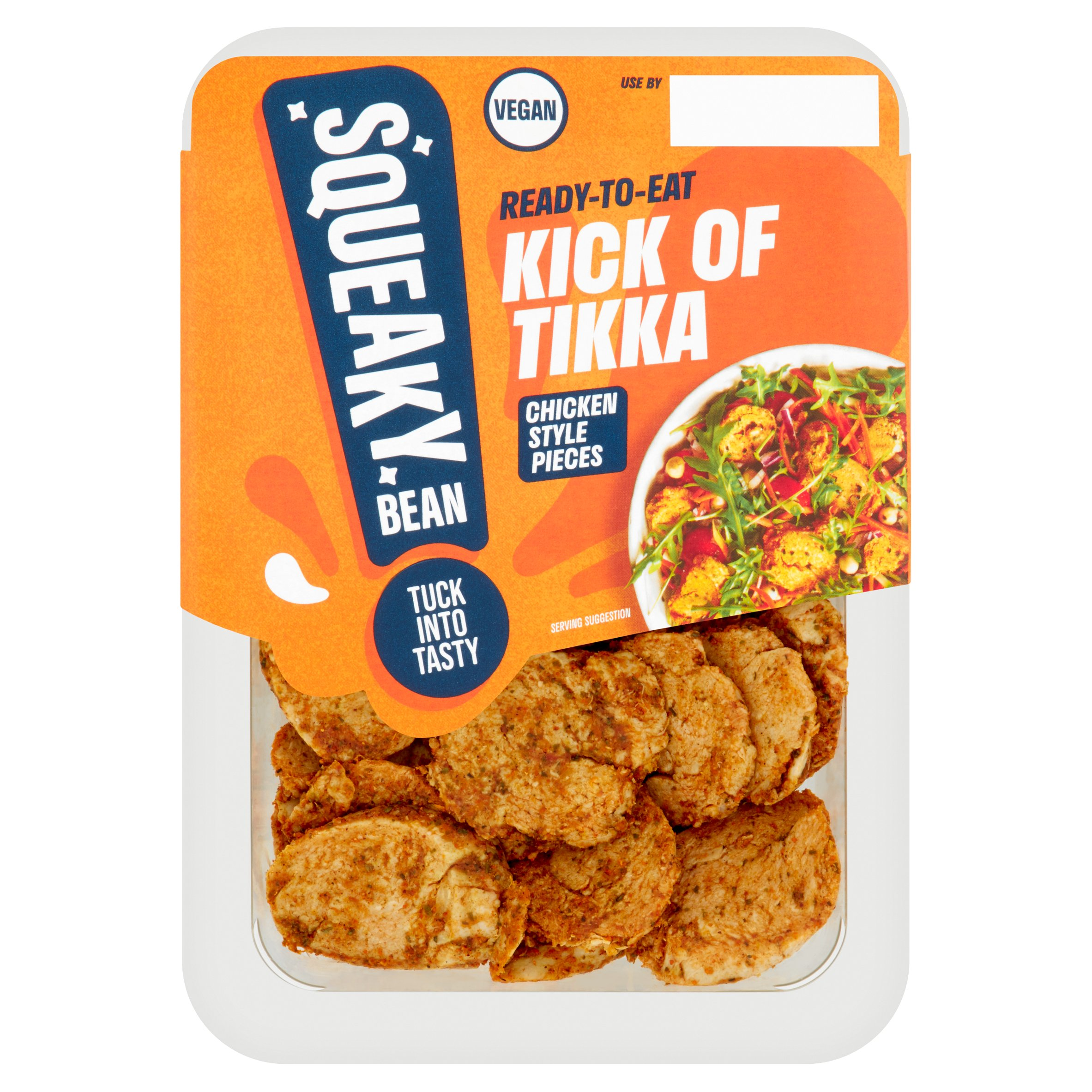 Squeaky Bean Ready To Eat Chicken Style Pieces Tikka 160G