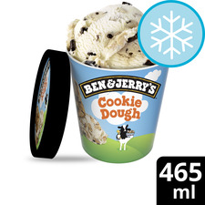 image 1 of Ben & Jerry's Cookie Dough Vanilla Ice Cream 465Ml