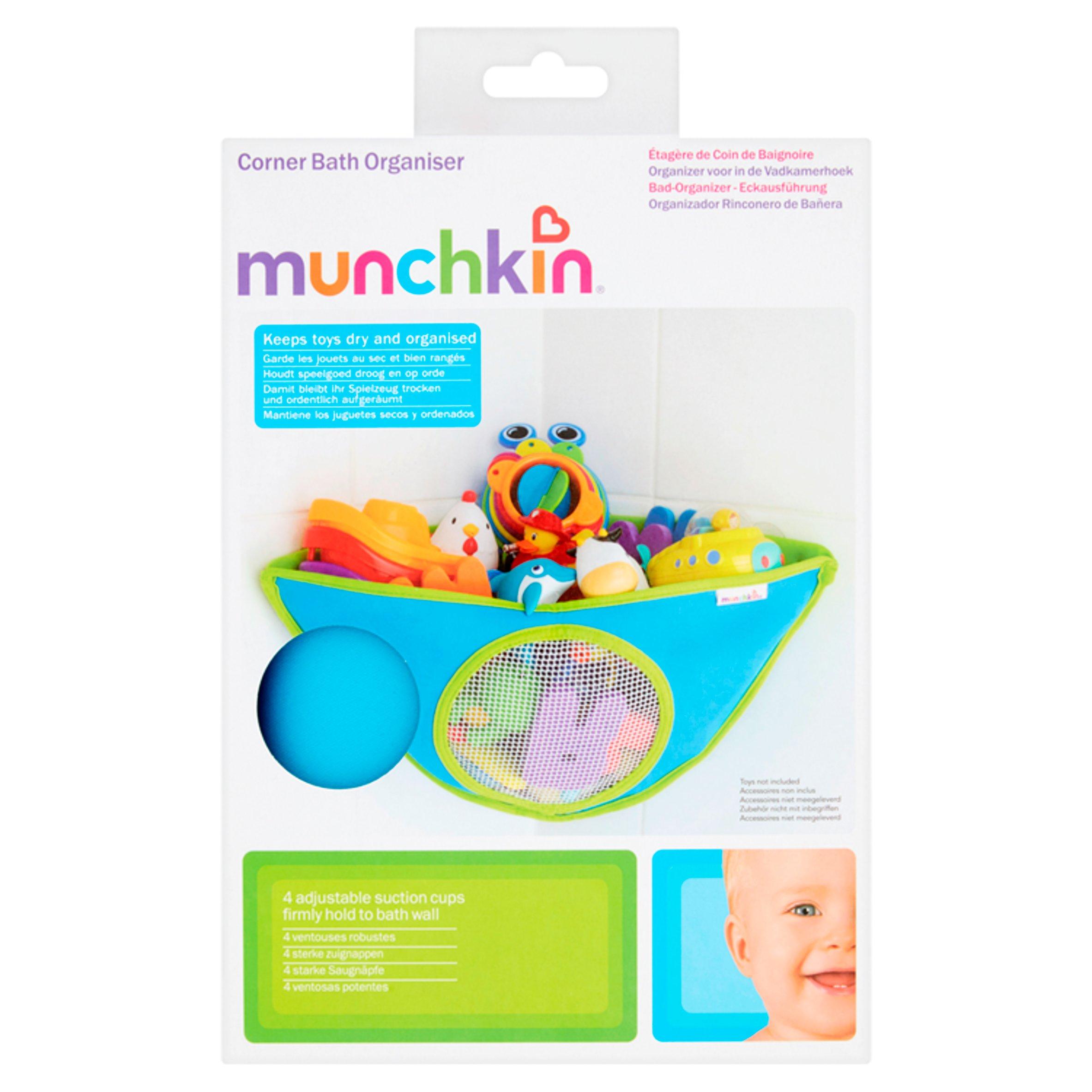 Bath Time Tidy Storage Toy Suction Cup Bag Mesh Bathroom Organiser Net /' MO