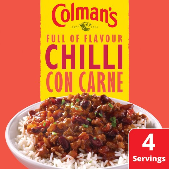 image 1 of Colman's Chilli Con Carne Recipe Mix 50G