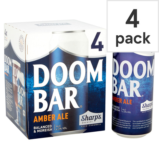 image 1 of Sharp's Doom Bar Can 4X500ml
