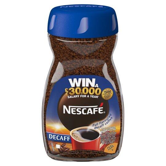 Nescafe Original Decaffeinated Coffee 100G