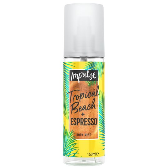 Impulse Tropical & Espresso Bodymist 150Ml