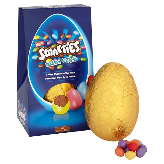 image 1 of Smarties Mini Insider Eggs 245g