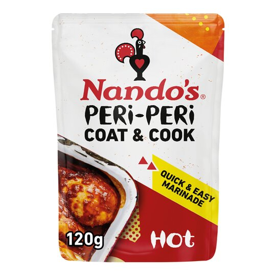 Nando's Coat & Cook Hot 120G