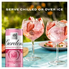 image 2 of Gordon's Pink Gin & Tonic Premix 250Ml