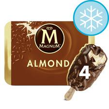 image 1 of Magnum Almond Ice Cream 4 X 100Ml
