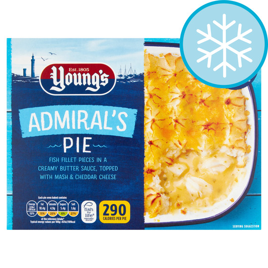 Youngs Admirals Pie 300G