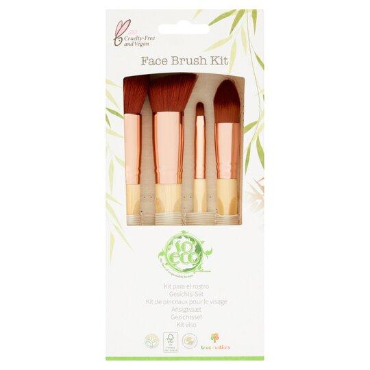 So Eco Face Kit Makeup Brush Tesco
