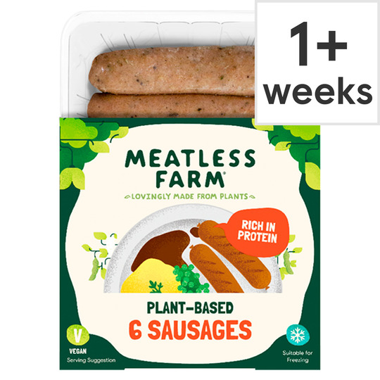 The Meatless Farm 6 Meat Free Sausages 300G