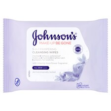 image 1 of Johnson's Face Care Pampering Wipes 25