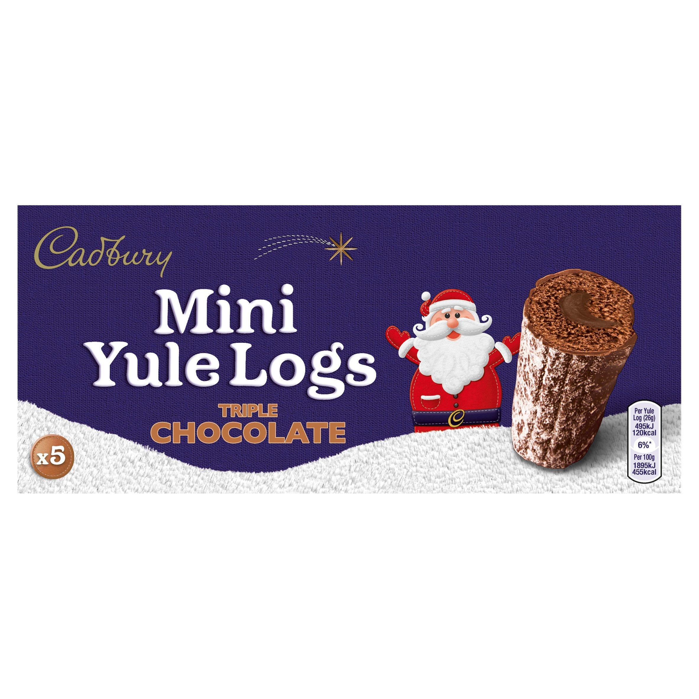 Cadbury Mini Yule Log 5 Pack