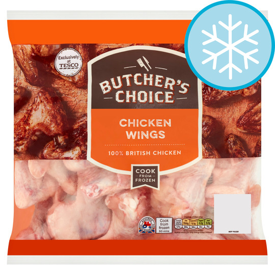 Butcher's Choice Chicken Wings 1.5Kg