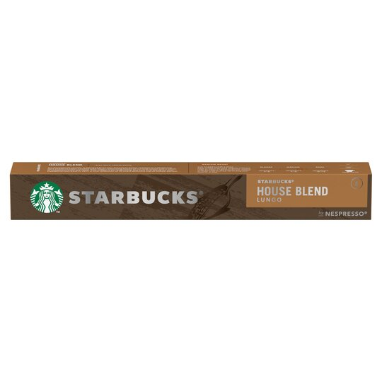 Starbucks House Blend Coffee Pods 10