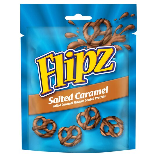 Flipz Salted Caramel Chocolate Pretzels 90G