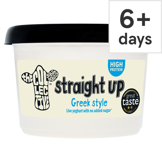 The Collective Straight Up Live Unsweetened Yogurt 450G