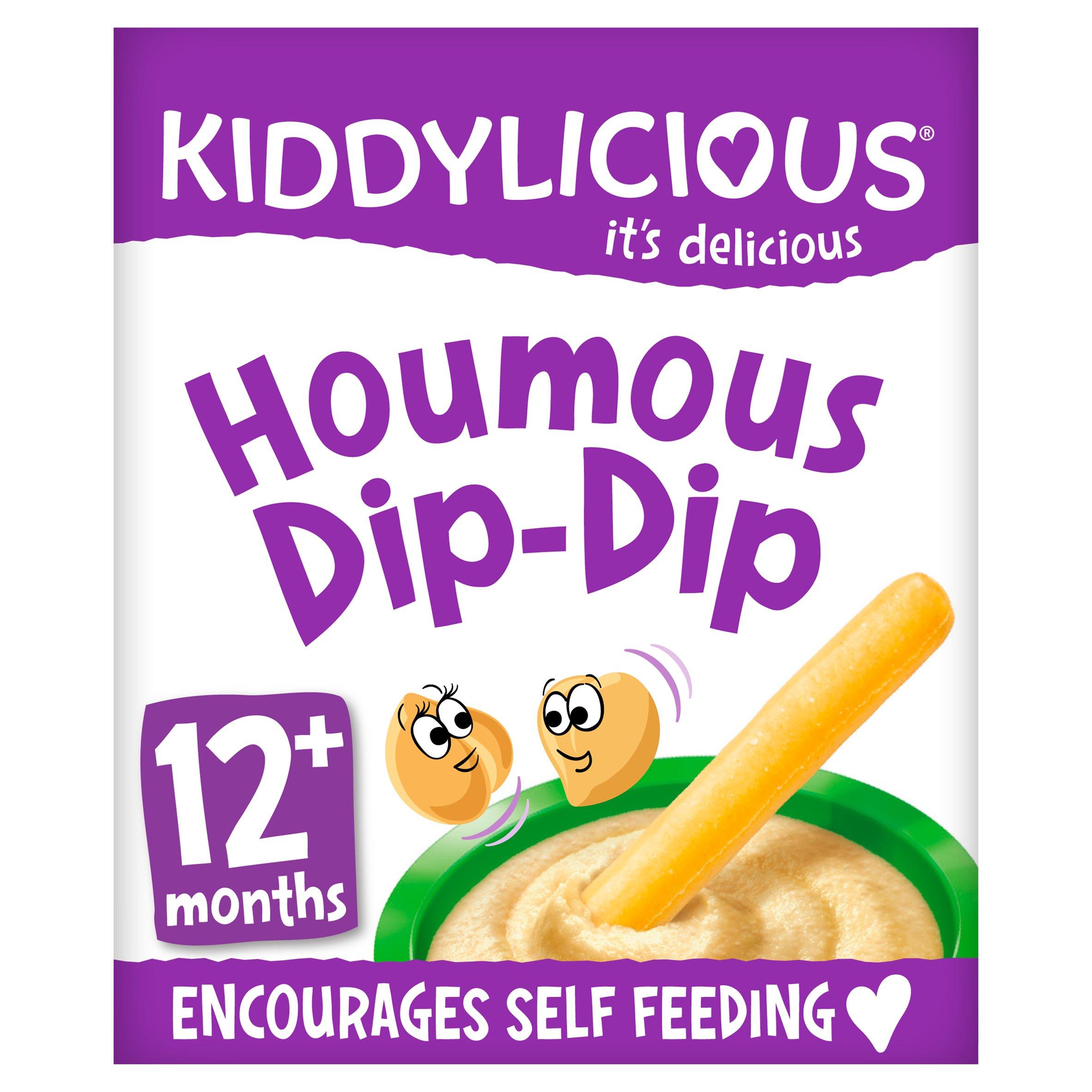 Kiddylicious Houmous Dip Dip 52G