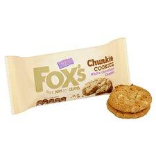 image 2 of Fox's White Chocolate Chunky Cookies 180G