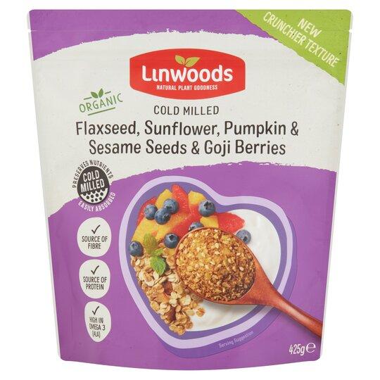 Linwoods Flax Sunflwr,P/Seeds& Sesame Goji 425G