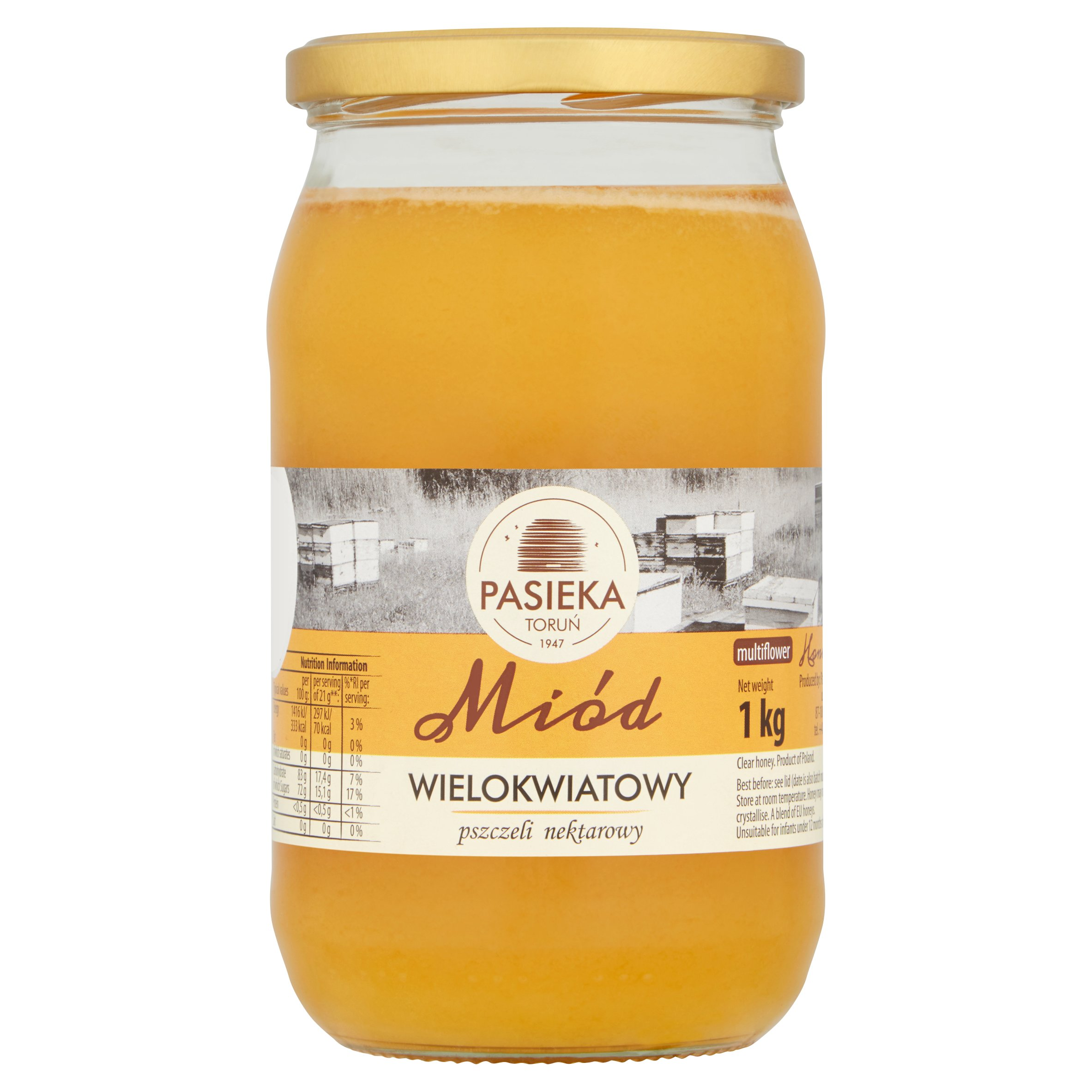 Pasieka Multiflower Honey 1Kg