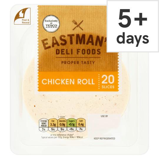 Eastman's Chicken Roll Slices 250G